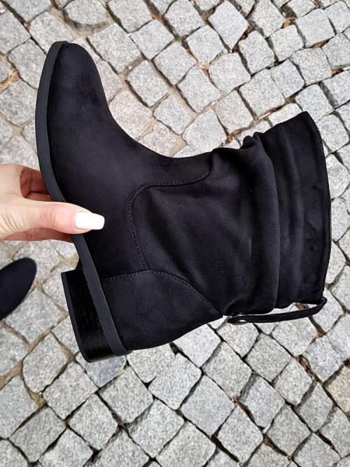 Buty BOTKI VENEZZIANO Black