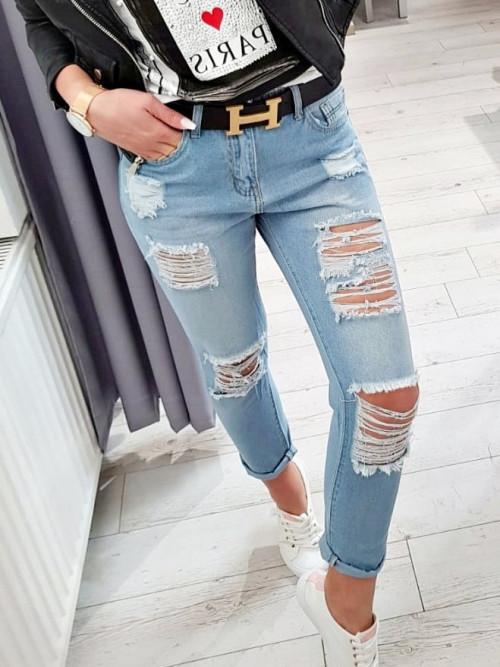 Spodnie GRACE BOYFRIEND denim