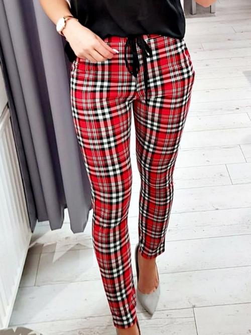Spodnie MORETTO SLIM FIT elegance and lifestyle CHILI