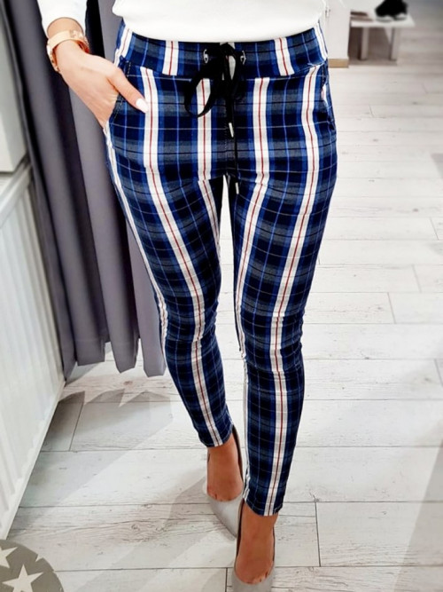 Spodnie MONACO lifestyle and elegance BLUE