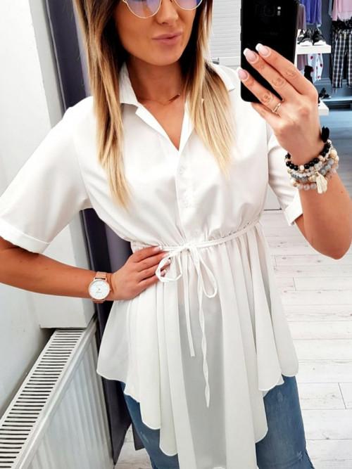 Tunika / koszula ASYMETRYCZNA biała