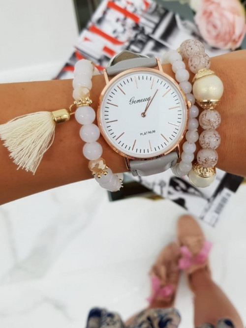 Zegarek GRAY MINIMALIZM Elegance CLASSIC