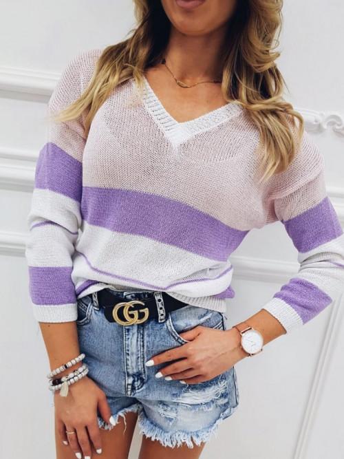 Sweter SPRING SANTORIO V-neck