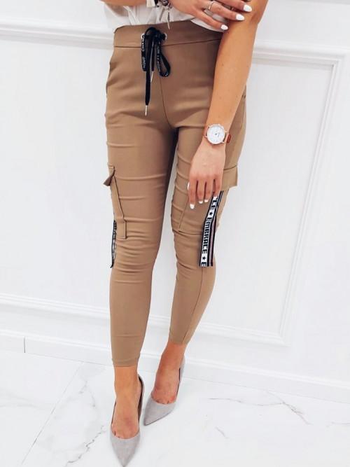 Spodnie LOLA Lifestyle BEIGE/CAMEL
