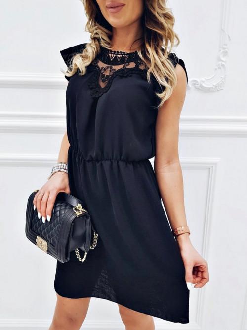Sukienka MOTYLEK elegance BLACK
