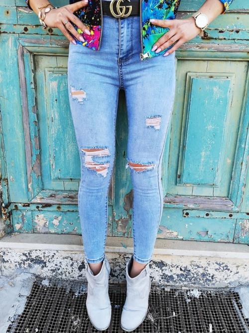 Spodnie DENIM BOYFRIEND Slim STRETCH