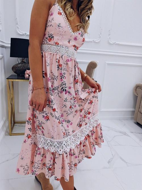 Sukienka VALENTINA FLOWERS maxi