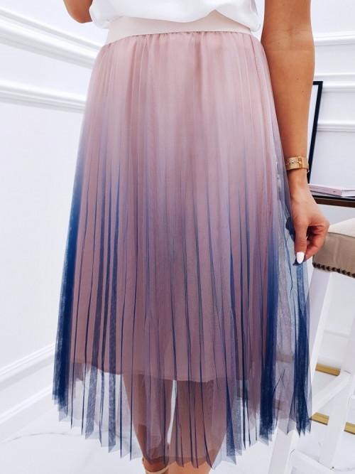 Spódnica OMBRE ELEGANCE plisowana