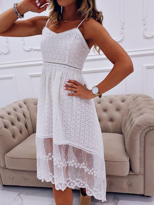 Sukienka PARIS BOHO asymetria