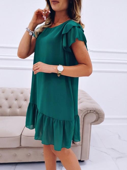 Sukienka RITA CLASSIC green