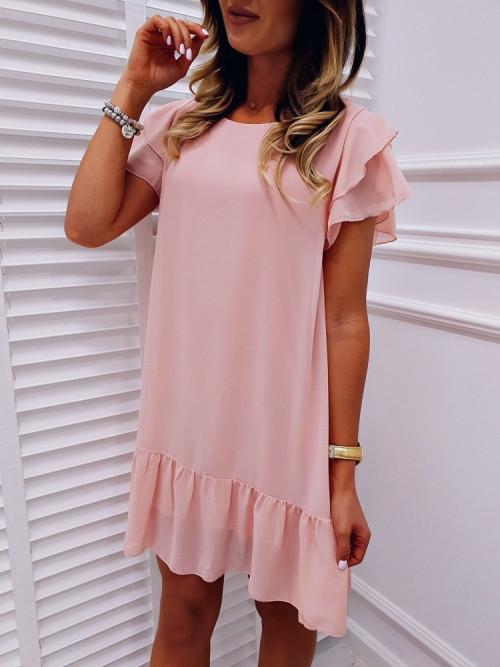 Sukienka RITA CLASSIC puder