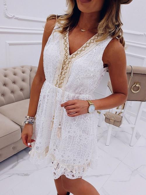 Sukienka La Corsico BOHO KORONKA