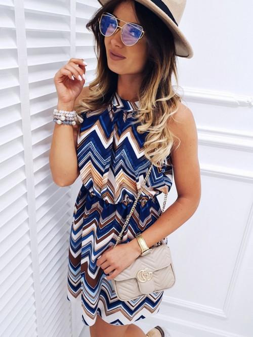 Sukienka COLARES summer BLUE