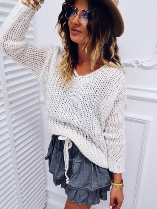 Sweter MARCCA kremowy