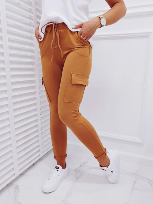 Spodnie COCO GUSTO SLIM-FIT camel