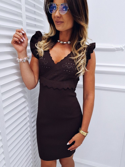 Sukienka PREMIUM DAISSY chocolate