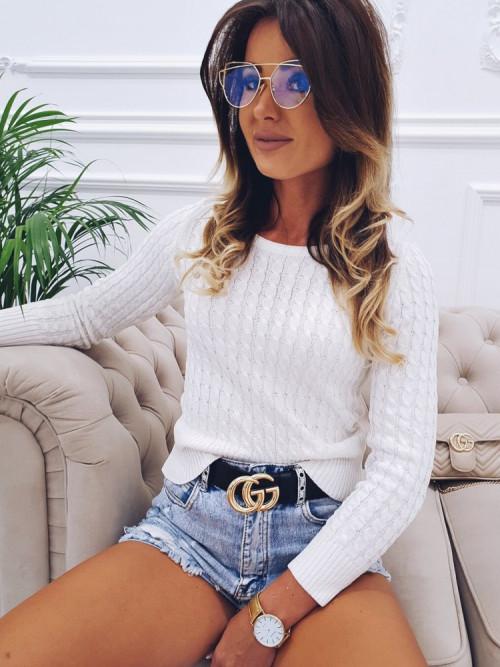 Sweterek FRATELLI white