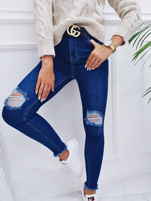 Spodnie ROMMA DENIM streetwear