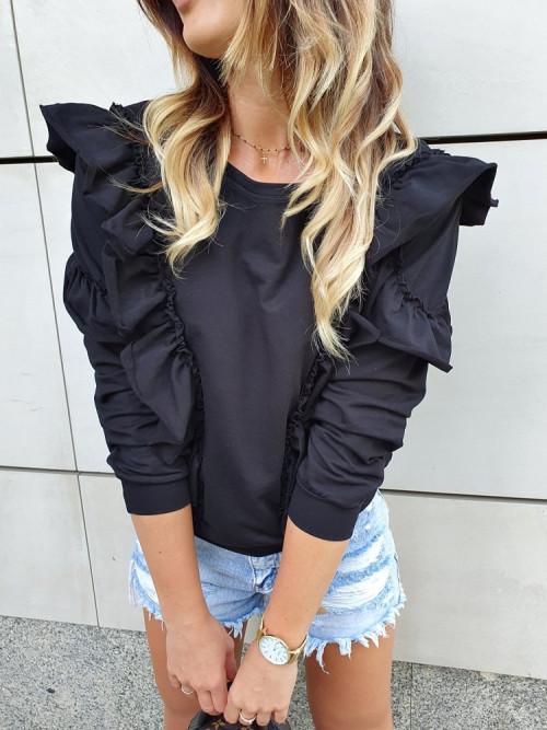 Bluza CANDY BASIC CASUAL black