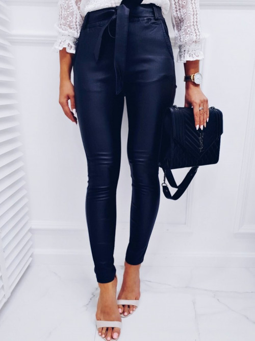 Spodnie WOSKOWNE MAT elegance