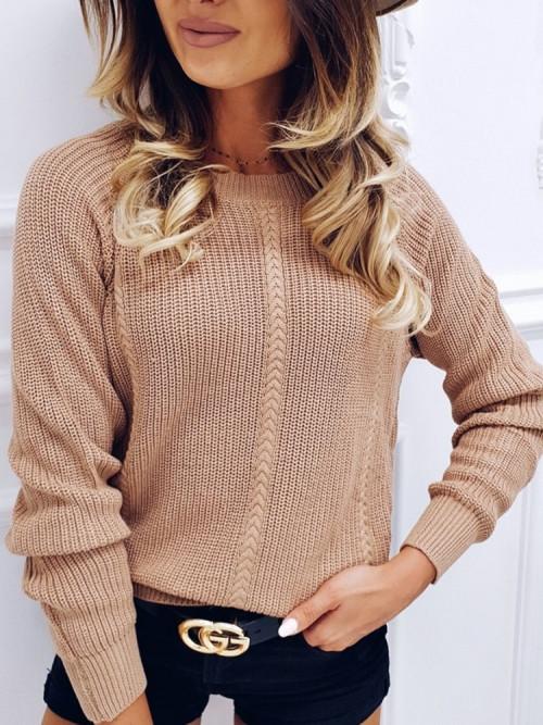Sweter CAMEL VINTAGE loose