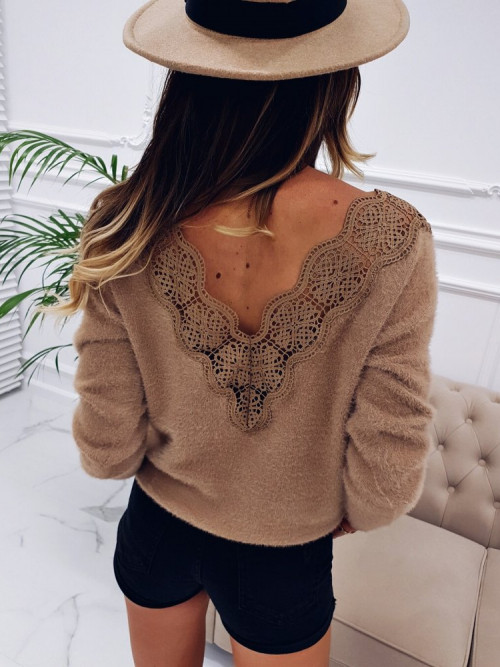 Sweter FLUFFY BELLINI KORONKA prestige