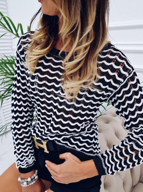 Sweterek AŻUR Italiano design