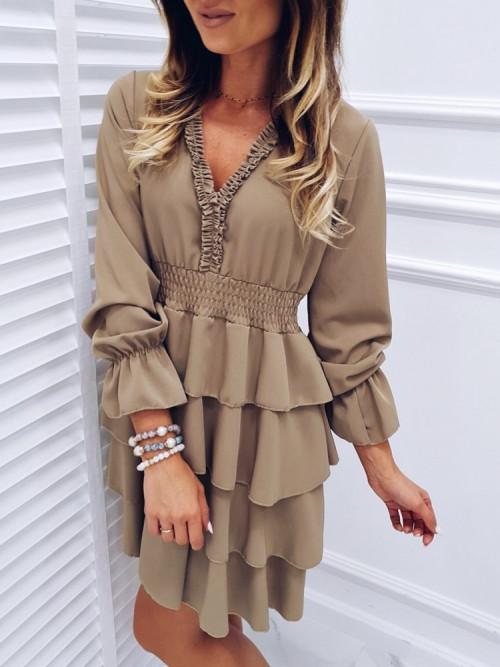 Sukienka LISSA RUBY beige
