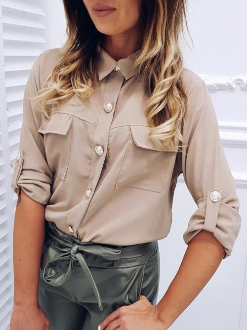 Koszula BIANCA Elegance BEIGE