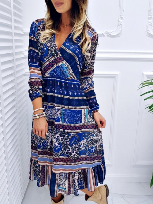 Sukienka OLLIA azteck