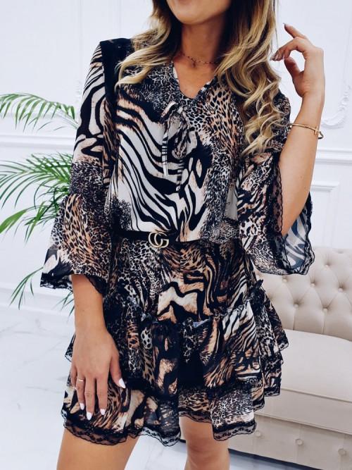 Sukienka HANNAH Koronka TRENDY LOOK
