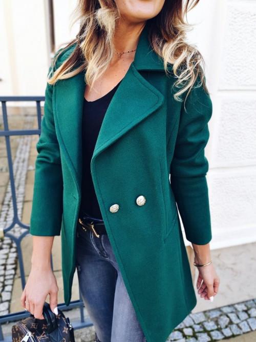 Płaszcz LUXURY VOGA green