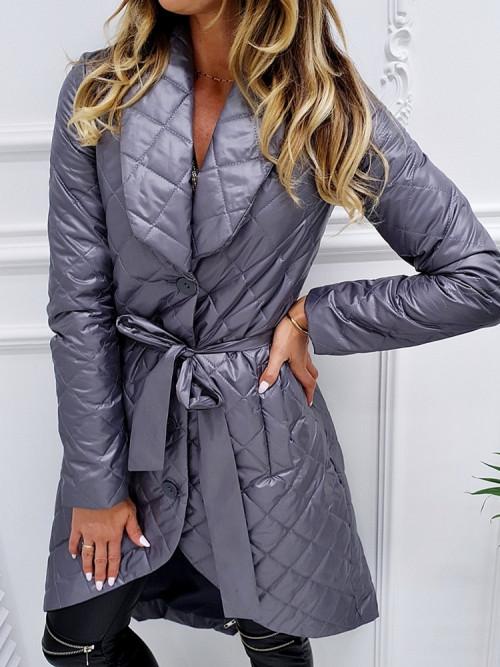 Płaszcz EXLUSIVE and ELEGANCE gray