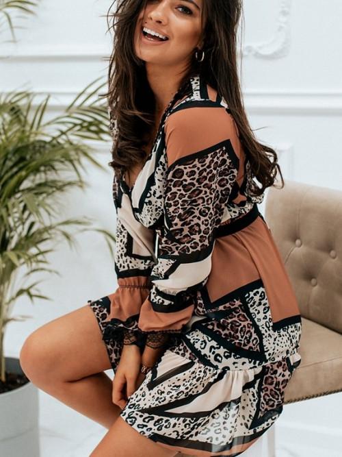 Sukienka OLIVIA panterka