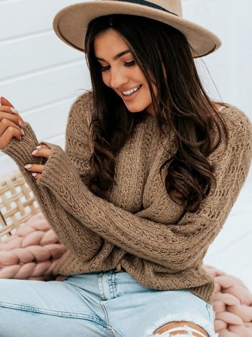 Sweter LaCOCCO ITALY ALPAK premium