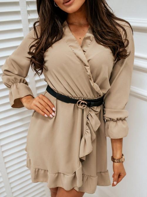 Sukienka LADY ELEGANCE beige