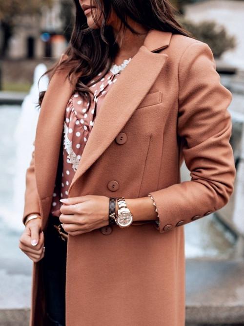 Płaszcz VOGA CAMEL Luxury