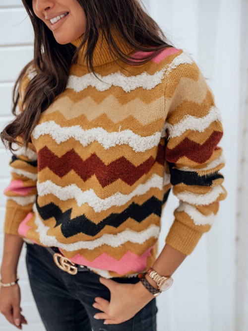 Sweter ZIG MILANO yellow