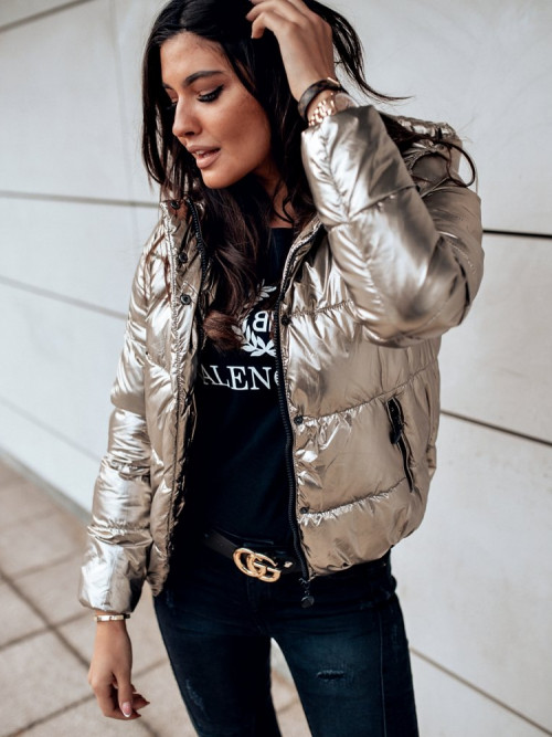 Kurtka PUFFER JACKET gold