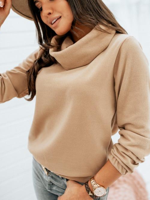 Sweter KOMIN MOCCA basic