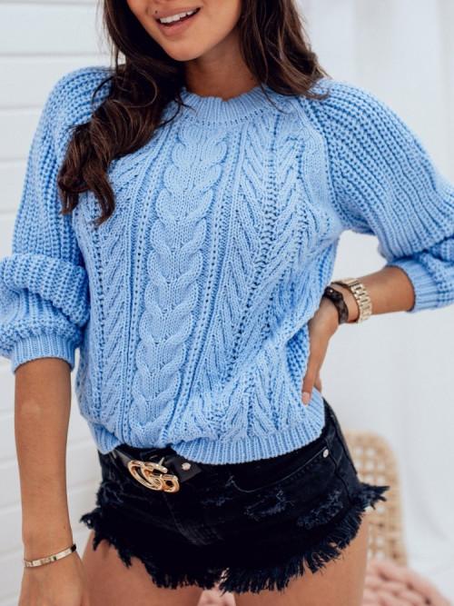Sweter Cest ENZO Błękit