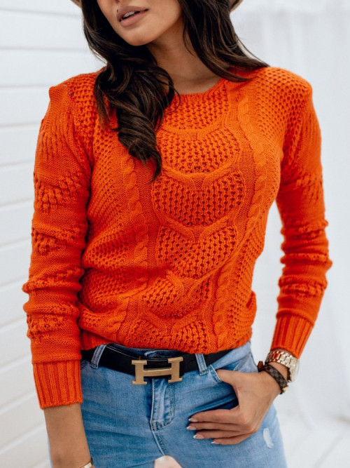 Sweter PIAZALLE Orange AUTUMN