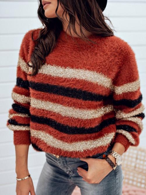 Sweter JASMINNO pretty CAMEL