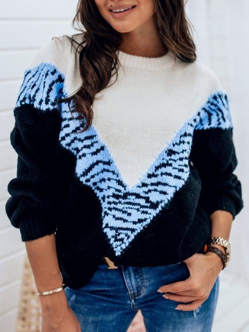 Sweter VILLOZA Lifestyle BLUE