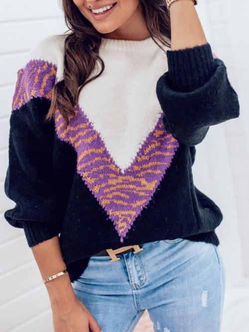 Sweter VILLOZA Lifestyle VIOLET