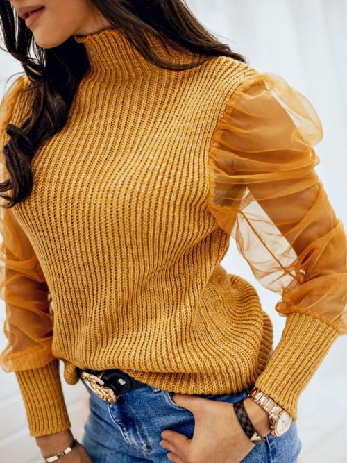 Sweterek COSENZZA Pretty YELLOW