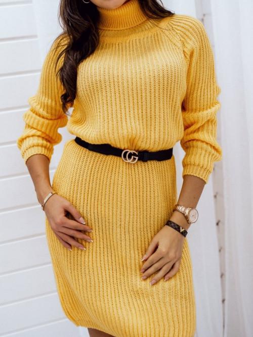 Sukienka MIRACALE yellow golf