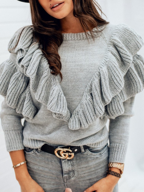 Sweter JENIFFER TREND gray