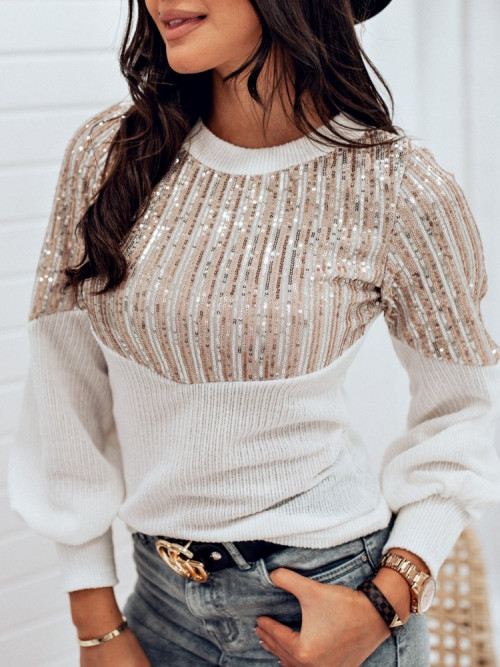 Sweterek CELEBRITY cekiny