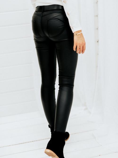 Spodnie WOSKOWANE modelujące PUSH-UP